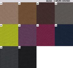 wzornik kolorów bakun