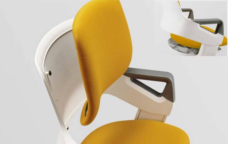 Ergonomiczne krzesło z regulacją wysokości, rosnące razem z